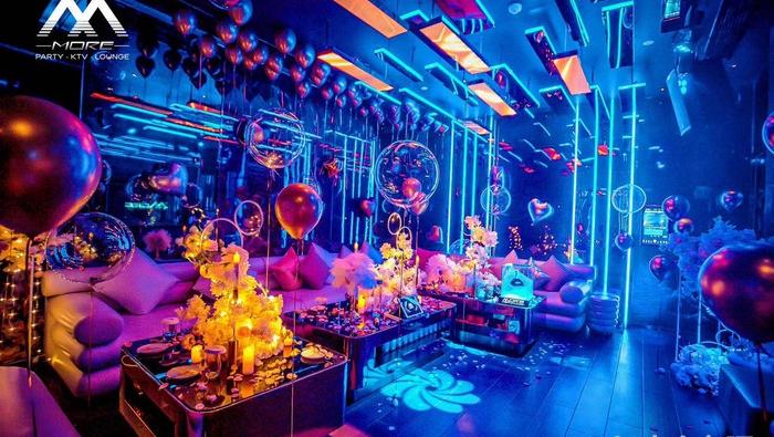 杭州IN11酒吧ktv包厢内部展示